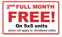 Special: 2nd Month Free!